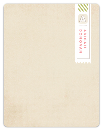 personal stationery - First class by Jennifer Wick