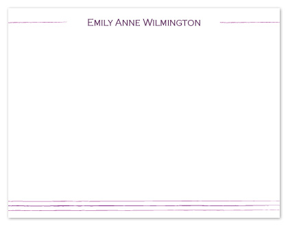 personal stationery - simply professional by Elizabeth Harris