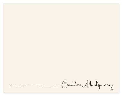 personal stationery - Charming Signature by hapamapa