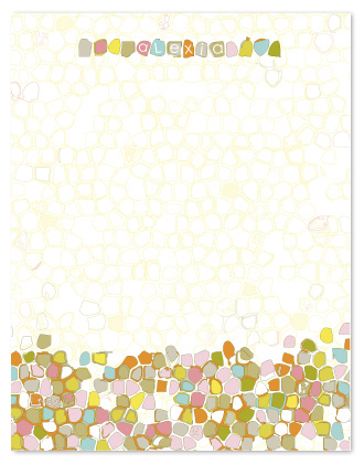 personal stationery - Crumble by Jenean Morrison