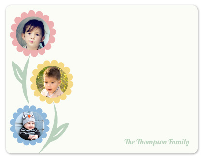 personal stationery - Mom's Bouquet  by Tracy Dunn