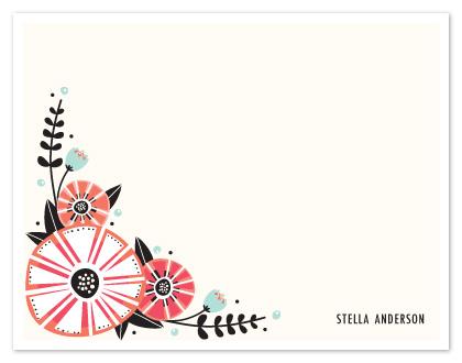 personal stationery - Unidentified Bloom by Angela Marzuki