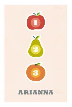 Fruit numerals