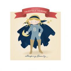 Fairytale Superhero Sleeping Beauty