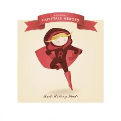 Fairytale Superhero Red Riding Hood