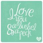 A Bushel & A Peck by Abby McElfresh Creative