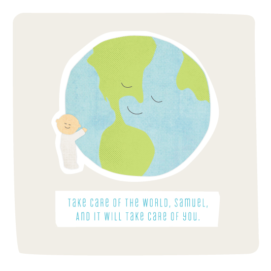 art prints - One world by Jennifer Wick