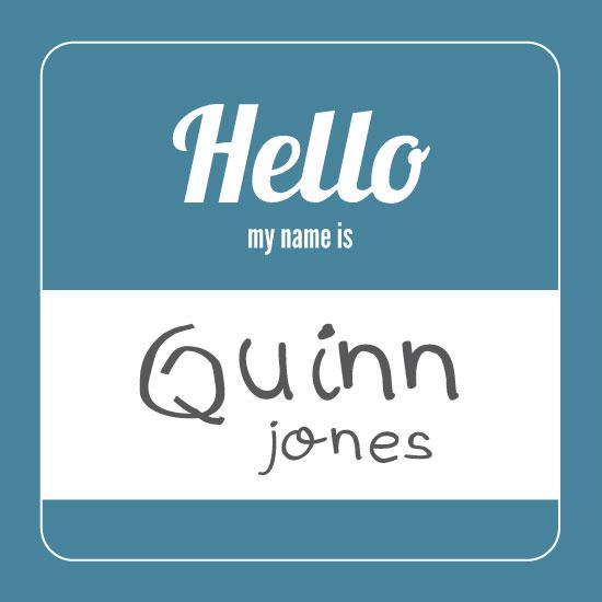 art prints - Hello My Name Is by Rachel Buchholz
