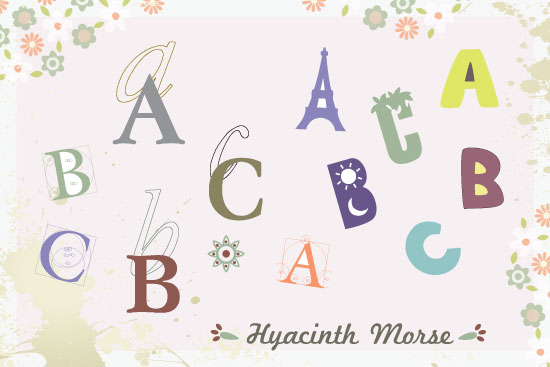 art prints - Lots of ABC by aticnomar