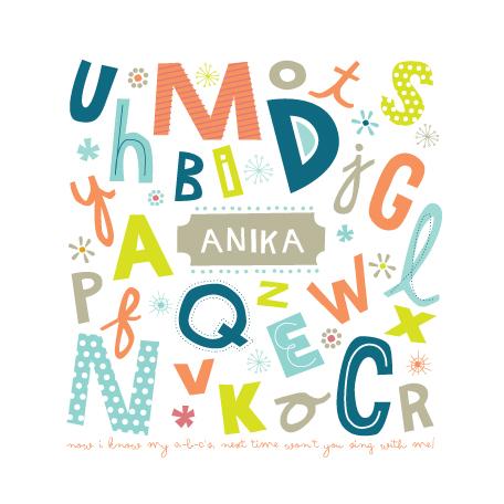 art prints - alphabet soup for her by trbdesign