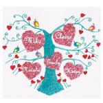 I heart my family tree by Claire Wiles