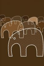 Marching Elephants by annwes