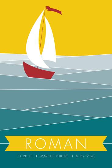 art prints - Set Sail by Holly Whitcomb
