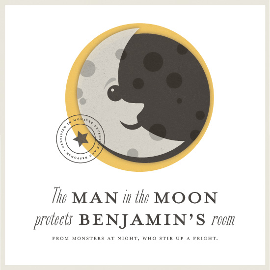 art prints - Man in the Moon by Snow and Ivy