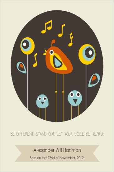 art prints - Be Different by Oma N. Ramkhelawan