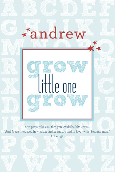 art prints - Grow Little One Grow by Ashlee Proffitt