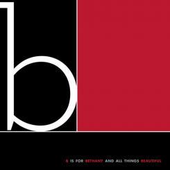 black, white, red all over