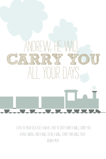 art prints - He Will Carry You. by Ashlee Proffitt