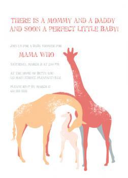 Giraffe Babies Are So Tall