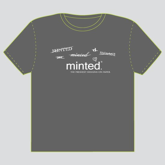 minted t-shirt design - What font, what font? by Wendy McClure