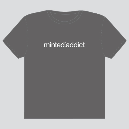 minted t-shirt design - minted addict by Guess What Design Studio