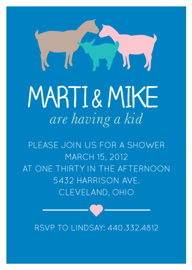 baby shower invitations - They're Having a Kid! by Hilary Buchanan