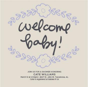 Welcome Baby!
