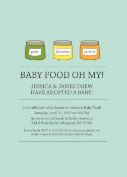 Baby Food Oh My