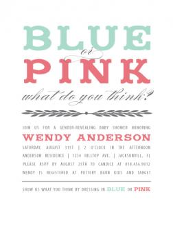 Blue or Pink Reveal