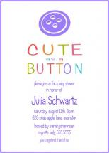 Cute as a Button by Lynn Clark
