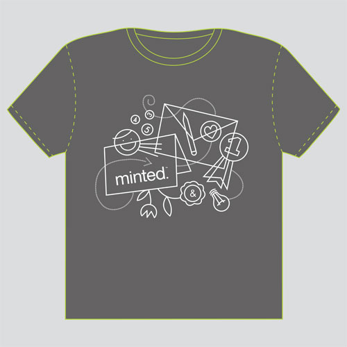 minted t-shirt design - doodles by Danielle Hartgers