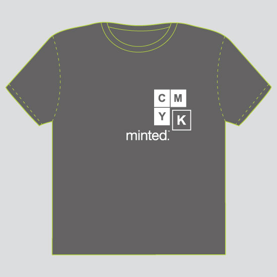 minted t-shirt design - CMYK by MK