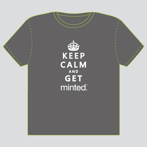 minted t-shirt design - Keep Calm by Serenity Avenue