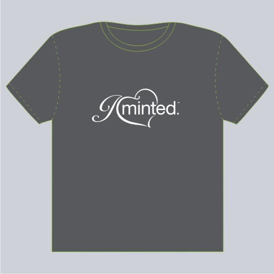 minted t-shirt design - I love minted by Irina
