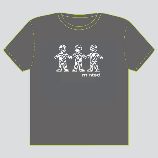 minted t-shirt design - Art, Community, by Lynn Clark