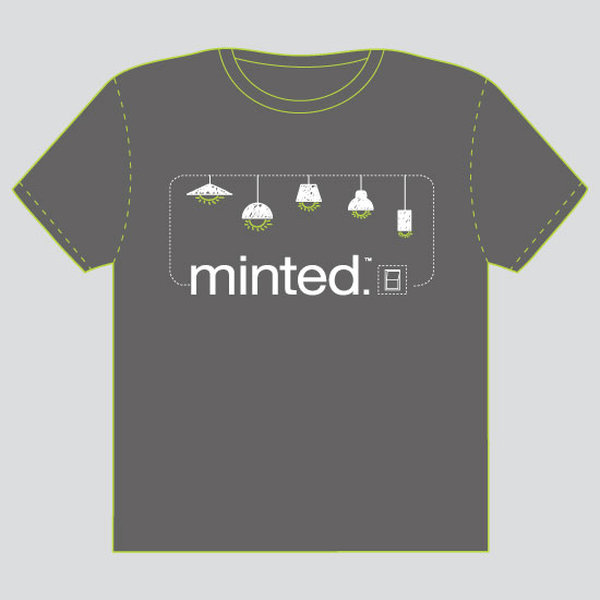 minted t-shirt design - One switch for all by Thy Tran