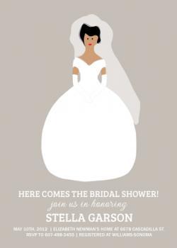 Here comes the Bride-al Shower