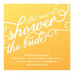 Sunshine Shower Invite