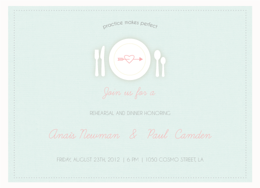 party invitations - Practice makes perfect by Giselle Zimmerman