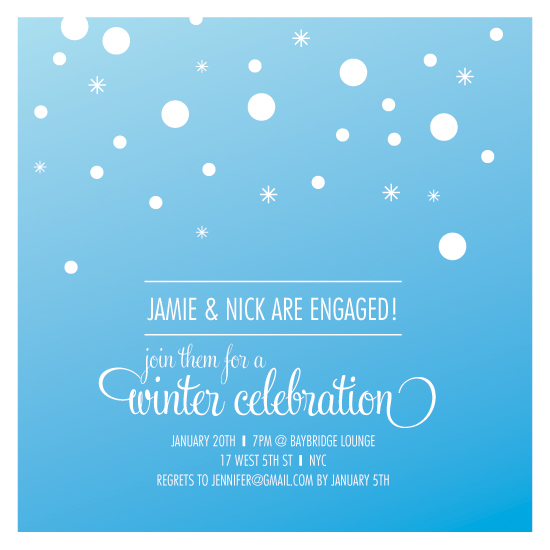 winter wonderland party invitations – gangcraft, Party invitations