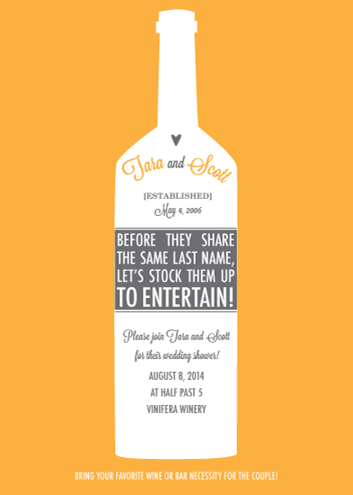 party invitations - Stock them up to Entertain! by Sublime Paperie