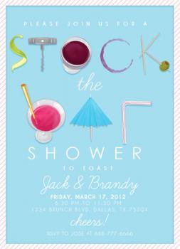 Stock the Bar Shower