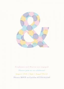 confetti ampersand