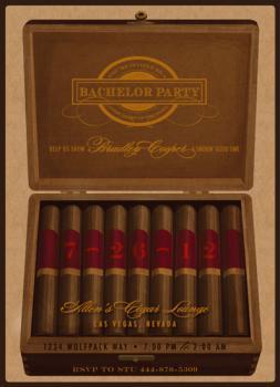 Cigar Bachelor Party