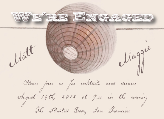 party invitations - Desert Lantern by Emma Apple