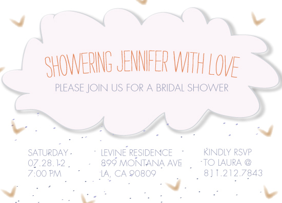 party invitations - Showering Thee by Emma Apple