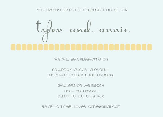 party invitations - Simplistic by Emma Apple