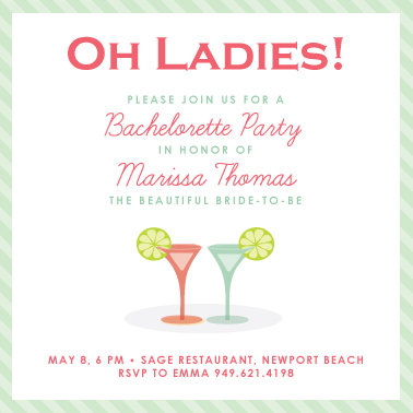 Party Invitations Oh Ladies At Minted Com