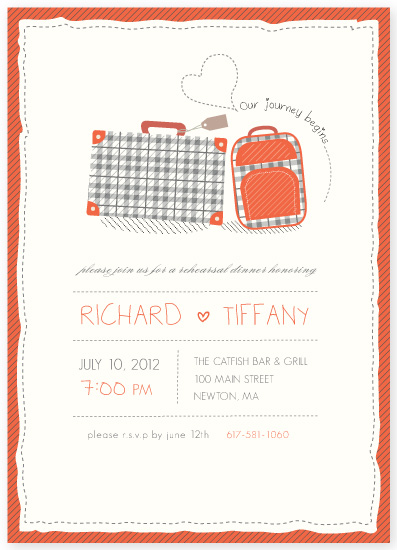 party invitations - Our Journey by Thy Tran