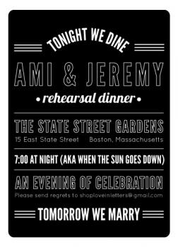 Tonight We Dine